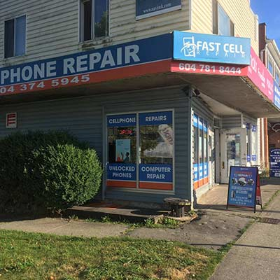 Victoria Drive Location - Cell phone repair shop in Vancouver