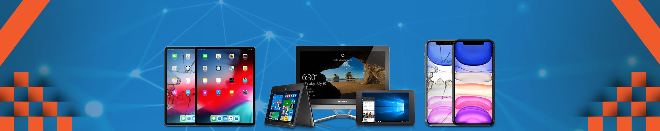 Get All Cell Phones, Desktop, Tablets & laptops Repaired