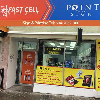 Commercial Drive - Cell phone repair shop in Vancouver
